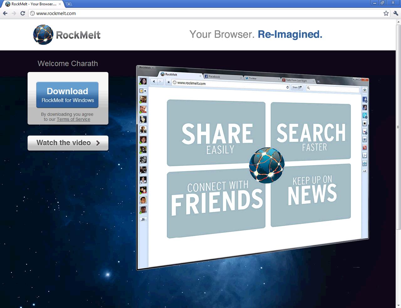 download rockmelt browser for nokia